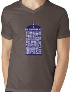 Run you clever boy Mens V-Neck T-Shirt