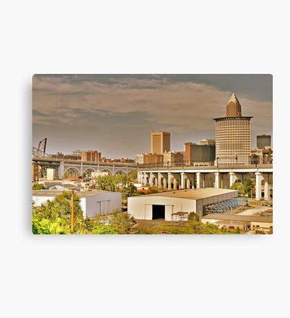 Cleveland Rocks Canvas Print
