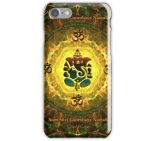 Ganesha - Success, Victory, Prosperity, Knowledge and Illumination iPhone Case/Skin