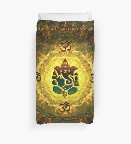 Ganesha - Success, Victory, Prosperity, Knowledge and Illumination Duvet Cover