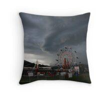 Carnival Storm Throw Pillow