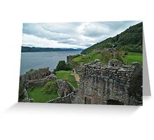 Urqhuart Castle 3 Greeting Card