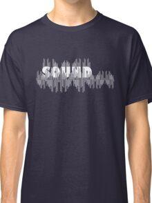 Sound wave Classic T-Shirt