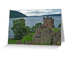Urquhart Castle 4 Greeting Card