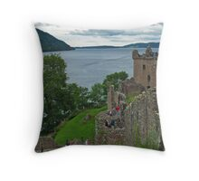 Urquhart Castle 4 Throw Pillow