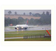 Delta Wet Departure Art Print