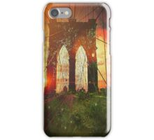 city that never sleeps iPhone Case/Skin