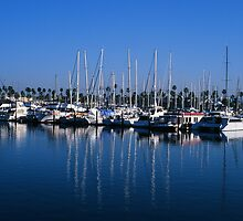 Chula Vista Marina by ecredbubble