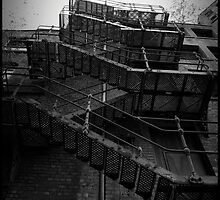 Fire Escape. The Northern Quarter, Manchester. by Quilm