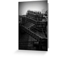 Fire Escape. The Northern Quarter, Manchester. Greeting Card
