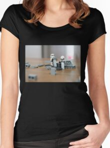 Brick by Brick Women's Fitted Scoop T-Shirt