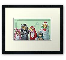 KIGURUMI BUNCH Framed Print