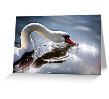 Reflection of rays Greeting Card