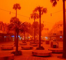 Sandstorm, Sydney, Australia  by Of Land & Ocean - Samantha Goode