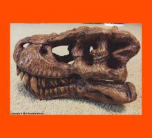 Tyrannosaurus Rex Skull Sculpture Kids Tee