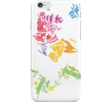 Watercolor map iPhone Case/Skin