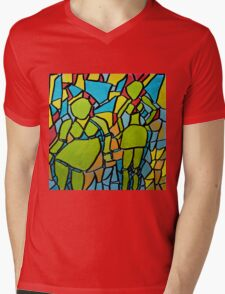 Part of the Pattern Mens V-Neck T-Shirt