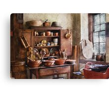 For the Master Chef  Canvas Print