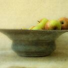 Apples and Bowl by David Henderson
