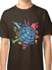 Landmarks around the World Classic T-Shirt
