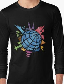 Landmarks around the World Long Sleeve T-Shirt
