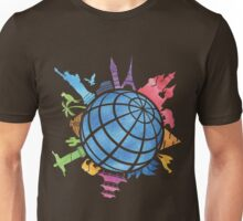Landmarks around the World Unisex T-Shirt