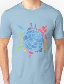Landmarks around the World Unisex T-Shirt