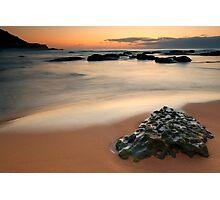 Lone Rock @ Spoon Bay Photographic Print