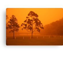 Australian dust storm Canvas Print