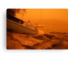 Shoreline safety Canvas Print