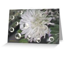 Softly I Stand Greeting Card