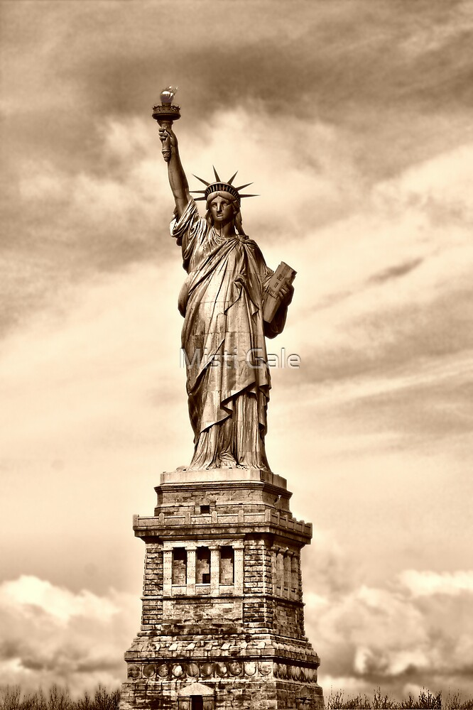 Statue Of Liberty  by Misti Love