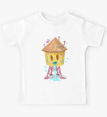 Happy Brooklyn Water Tower Kids Tee