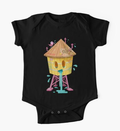 Happy Brooklyn Water Tower One Piece - Short Sleeve