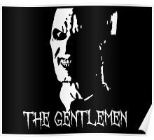The Gentlemen Silhouette - BTVS Poster