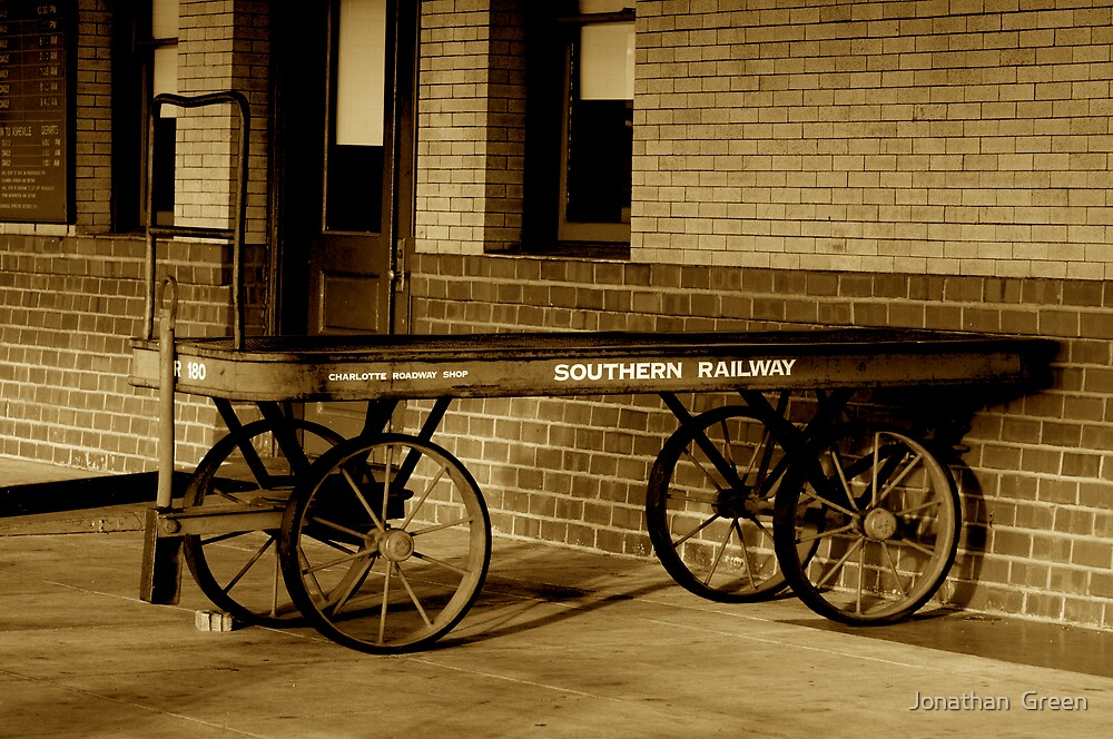 Southern Railway Luggage Carrier by Jonathan  Green