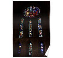 Marian Window Pluscarden Abbey Poster