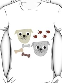 Pugs and Paws T-Shirt