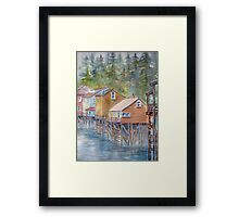 Ketchikan, Alaska Framed Print