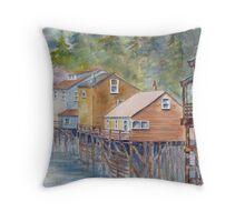Ketchikan, Alaska Throw Pillow