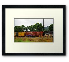 Tagged Framed Print