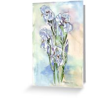 The rainbow flower, Greeting Card