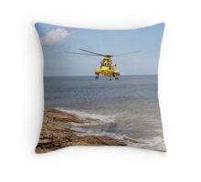 Seaking Air Sea Rescue Throw Pillow