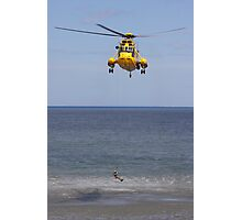 Seaking Rescue Helicopter Photographic Print
