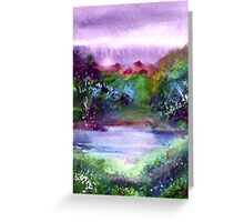 Mystic Lake Greeting Card