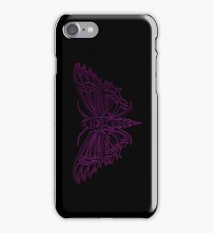 Death Moth ULTRA VIOLET iPhone Case/Skin