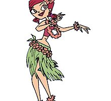 Zoey does the Hula by BelovedxCisque