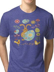 Rabbit Tri-blend T-Shirt