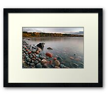 Red Rocks. Framed Print