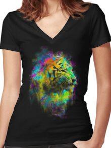Break Free Women's Fitted V-Neck T-Shirt